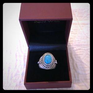 MAKE AN OFFER ;) Turquoise Borgia Ring